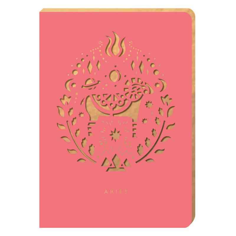 PZ04: Portico/Zodiac Notebook Aries Zodiac Notebook