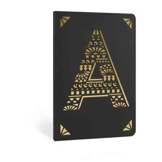 A1F: Portico/Monogram Notebook A1F A FOIL A6 NOTEBOOK