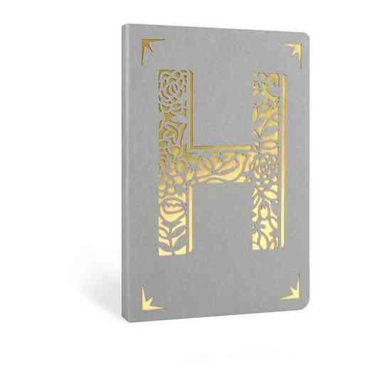 H1F: Portico/Monogram Notebook H1F H FOIL A6 NOTEBOOK