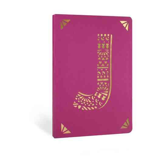 J1F: Portico/Monogram Notebook J1F J FOIL A6 NOTEBOOK