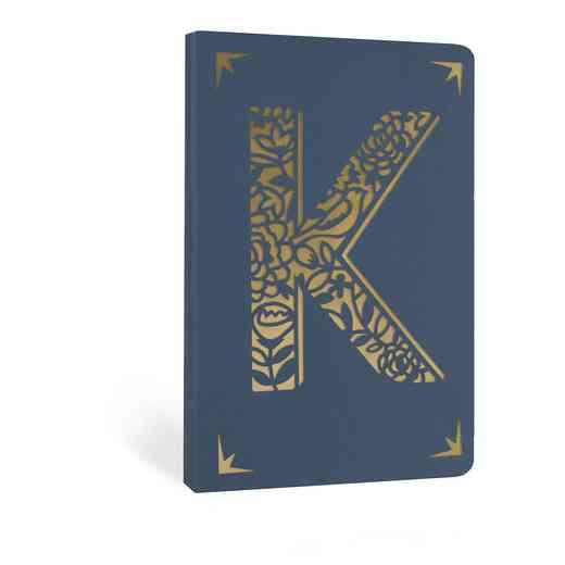 K1F: Portico/Monogram Notebook K1F K FOIL A6 NOTEBOOK