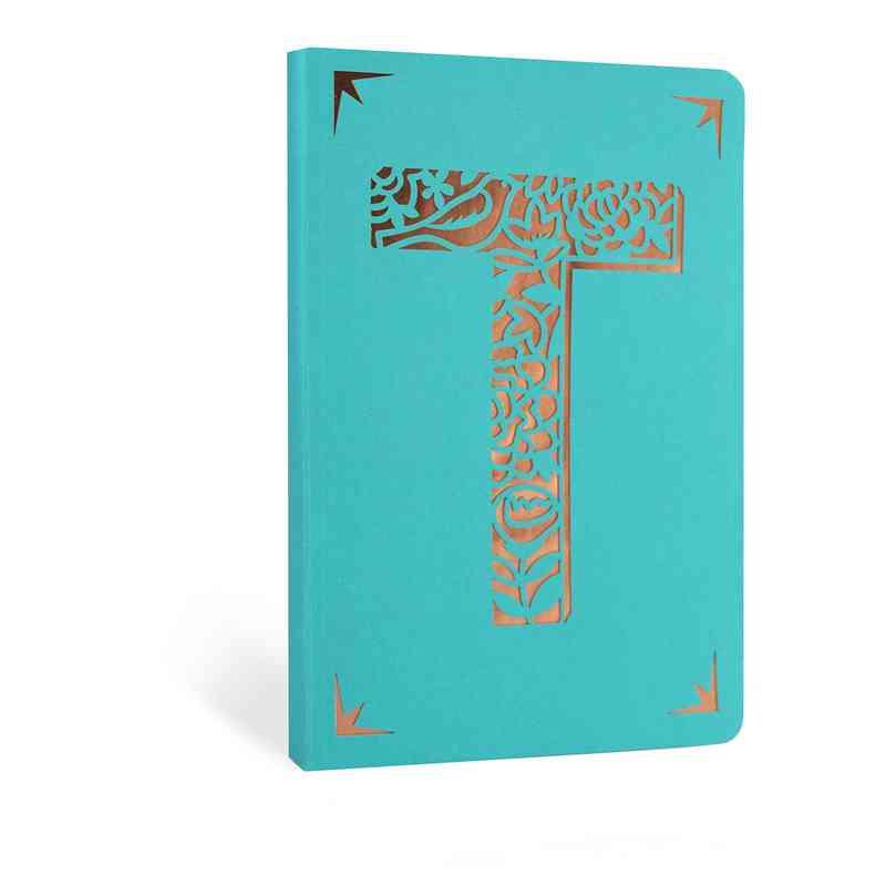 T1F: Portico/Monogram Notebook T1F T FOIL A6 NOTEBOOK
