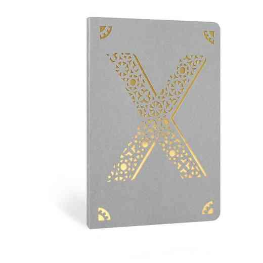 X1F: Portico/Monogram Notebook X1F X FOIL A6 NOTEBOOK