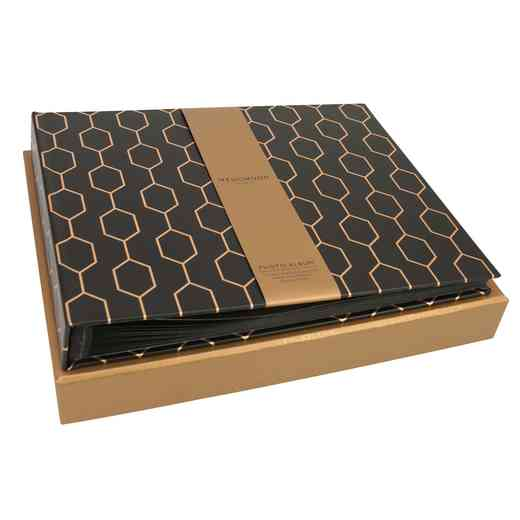 PWWA02: Wedgwood Collection Photo Album - BLACK