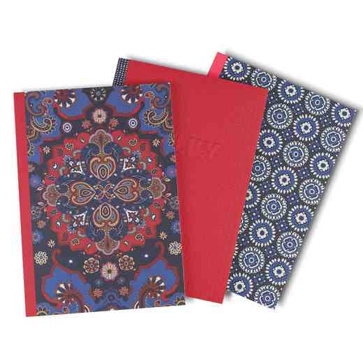 OLYST01: Oilily Set of 3 A5 Notebooks