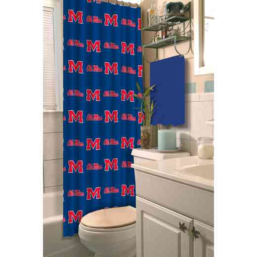 1COL903000054RET: COL 903 Mississippi Shower Curtain