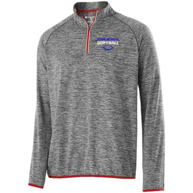Softball Embroidered Holloway Force Training Top