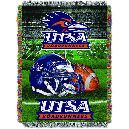 a40fb108840 Texas San Antonio OFFICIAL Collegiate Tapestry Throw