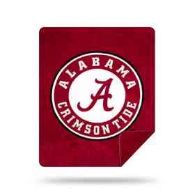 1COL361000018RET: NW SLIVER KNIT THROW, Alabama. Alabama Crimson Tide ...