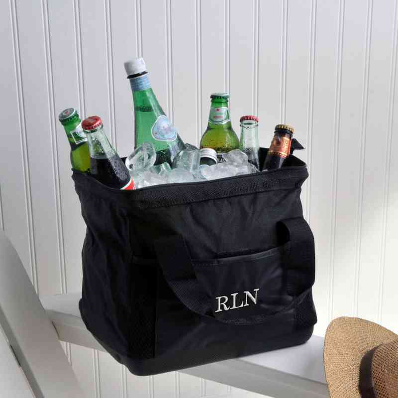 GC802: Personalized Large Mouth Cooler Bag
