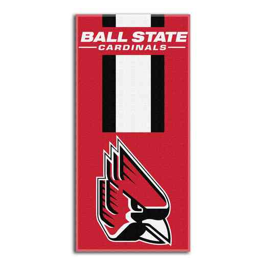 1COL620000122RET: NW NCAA ZONE READ BEACH TOWEL, BALL ST