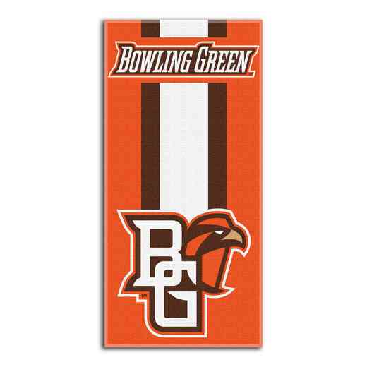 1COL620000160RET: NW NCAA ZONE READ BEACH TOWEL, BOWLING GREEN