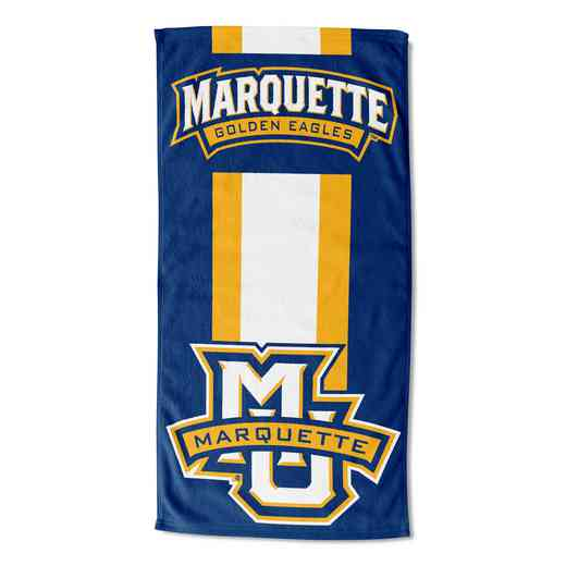 1COL620000115RET: NW NCAA ZONE READ BEACH TOWEL, MARQUETTE