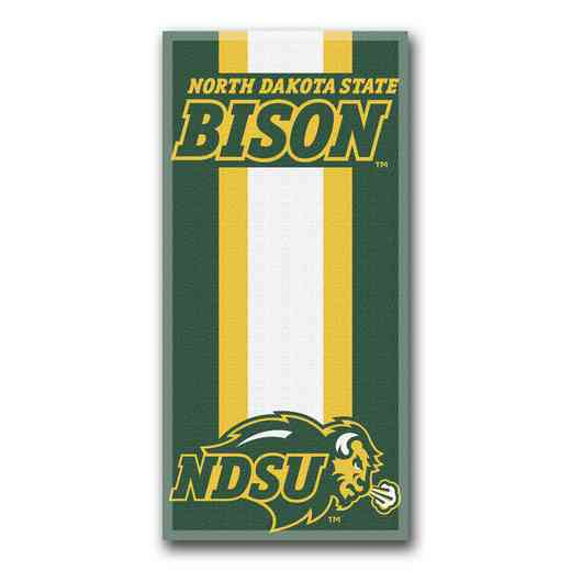 1COL620000098RET: NW NCAA ZONE READ BEACH TOWEL, N DAKOTA ST