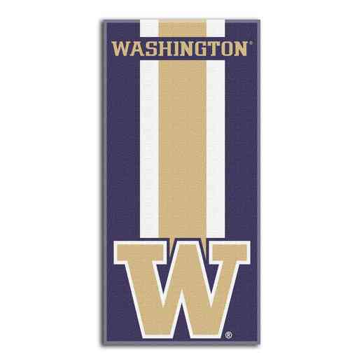 1COL620000037RET: NW NCAA ZONE READ BEACH TOWEL, WASHINGTON