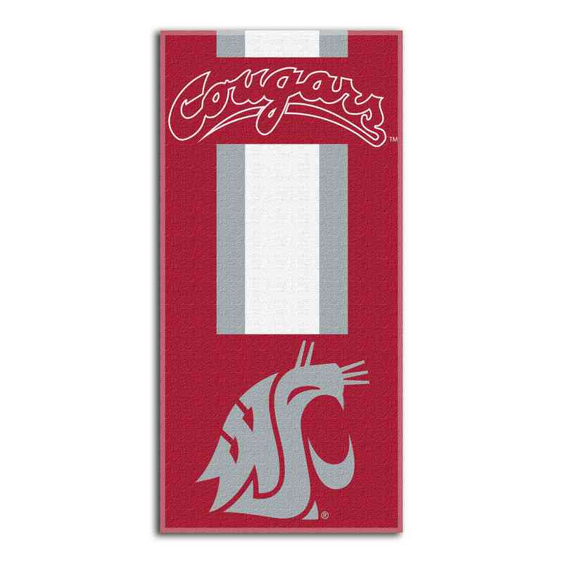 1COL620000017RET: NW NCAA ZONE READ BEACH TOWEL, WASHINGTON ST