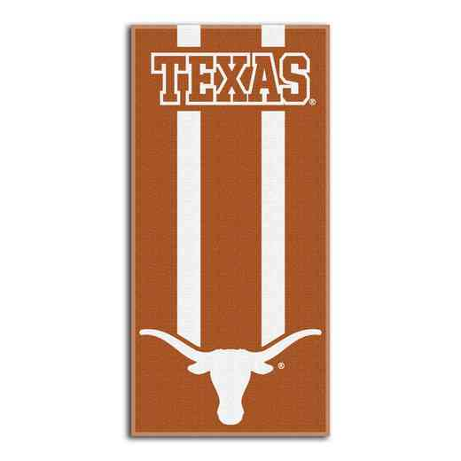 1COL720000036RET: NW NCAA ZONE READ BEACH TOWEL, TEXAS