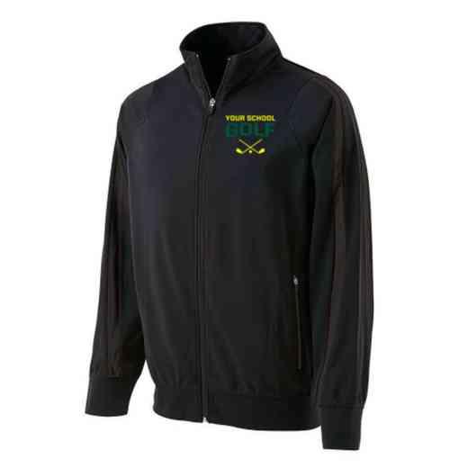 Golf Embroidered Men's Holloway Determination Jacket
