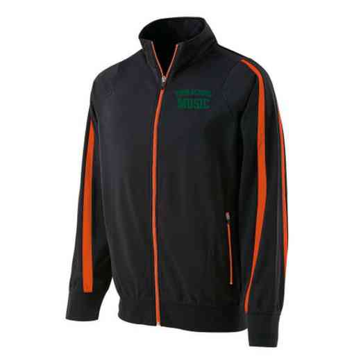 Music Embroidered Men's Holloway Determination Jacket
