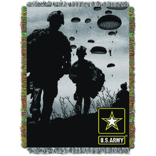 1MIL051000002RET: NW ARMY INVASION TAPESTRY THROW