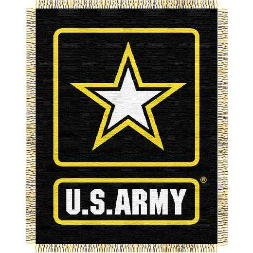 1MIL019000002RET: NW ARMY WOVEN JACQUARD THROW