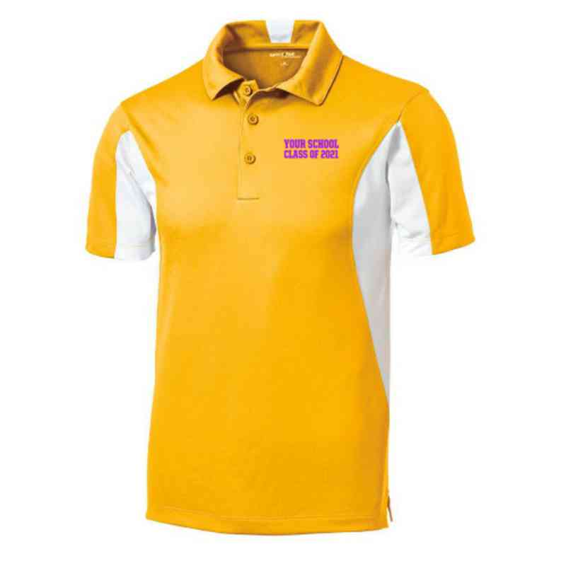 Class of  Embroidered Sport-Tek Side Blocked Sport Wick Polo