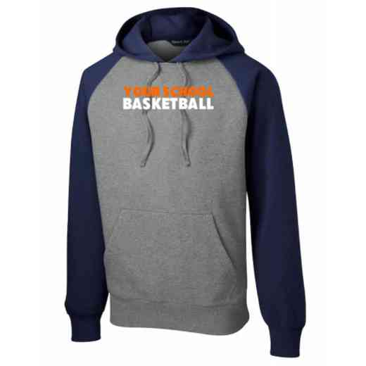 Basketball Vintage Heather Hooded Sweatshirt