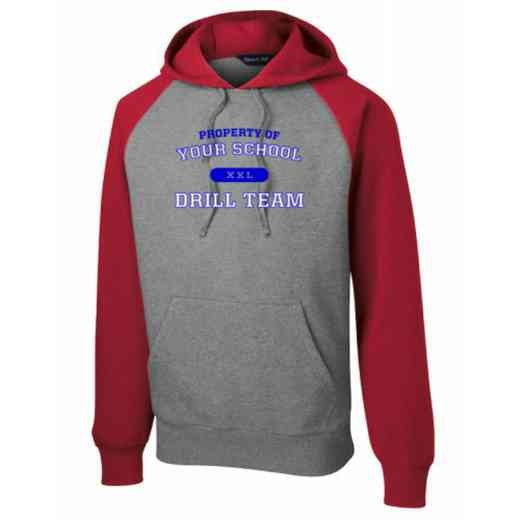 Drill Team Vintage Heather Hooded Sweatshirt