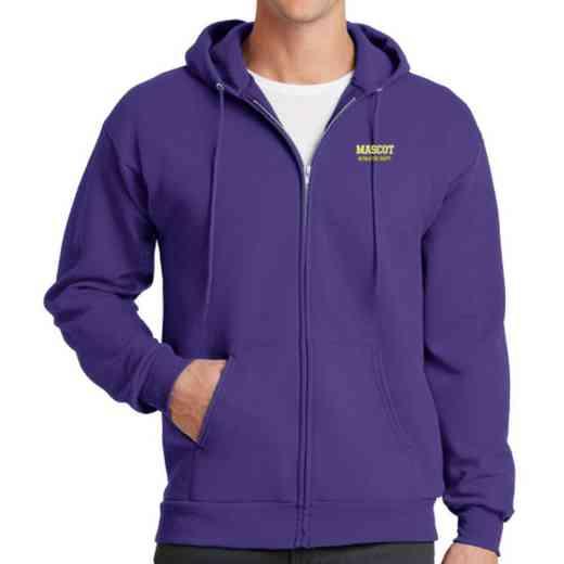 Athletic Department Embroidered Full Zip Hooded Sweatshirt