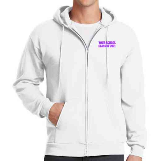 Class of  Embroidered Full Zip Hooded Sweatshirt