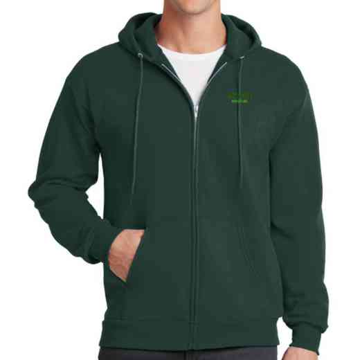 Wrestling Embroidered Full Zip Hooded Sweatshirt