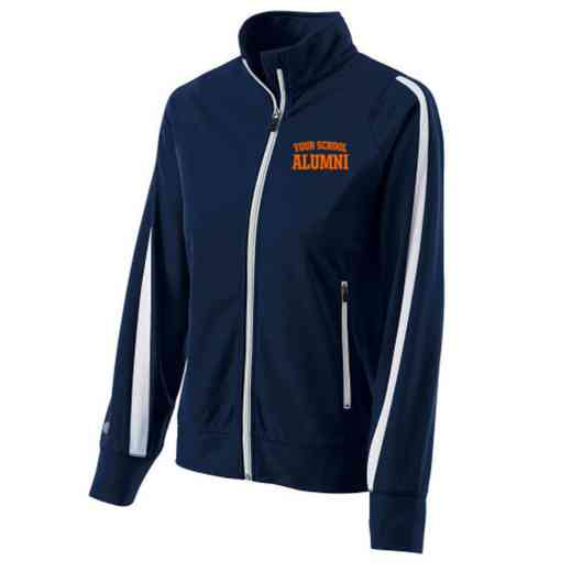 Alumni Embroidered Ladies Holloway Determination Jacket