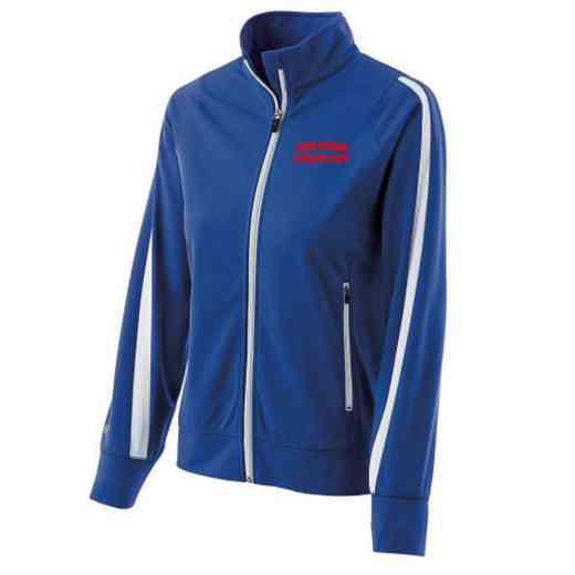 Athletic Department Embroidered Ladies Holloway Determination Jacket