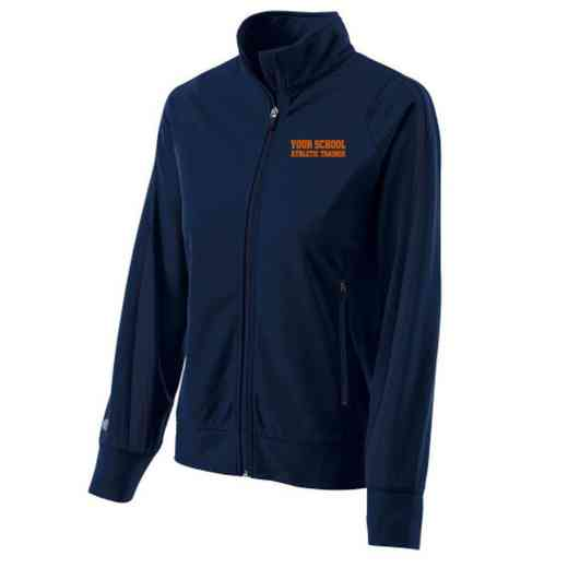 Athletic Trainer Embroidered Ladies Holloway Determination Jacket