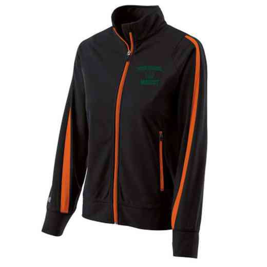 Basketball Embroidered Ladies Holloway Determination Jacket