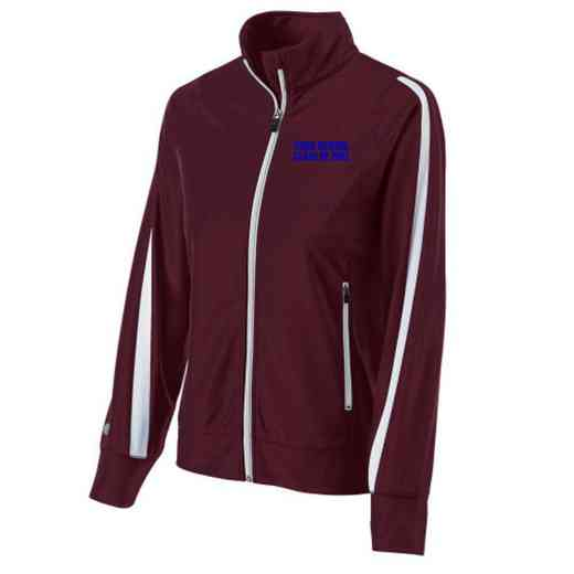 Class of  Embroidered Ladies Holloway Determination Jacket