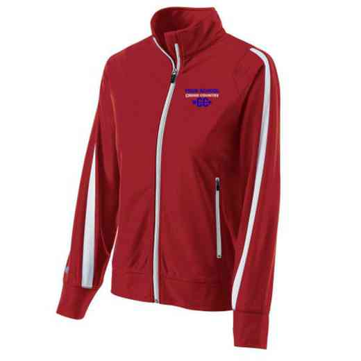 Cross Country Embroidered Ladies Holloway Determination Jacket