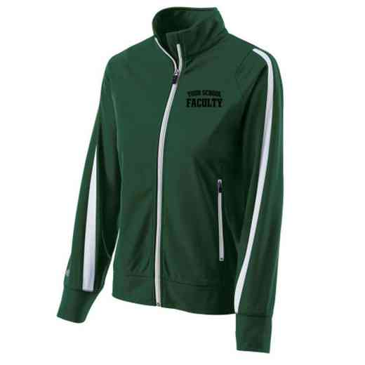 Faculty Embroidered Ladies Holloway Determination Jacket