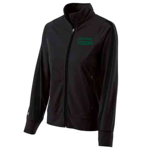 Fishing Embroidered Ladies Holloway Determination Jacket