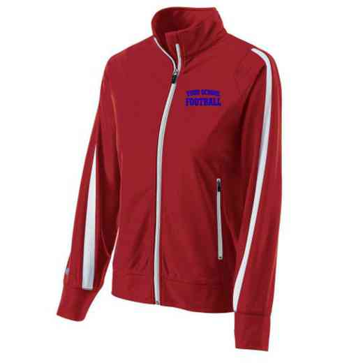 Football Embroidered Ladies Holloway Determination Jacket