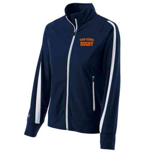 Rugby Embroidered Ladies Holloway Determination Jacket