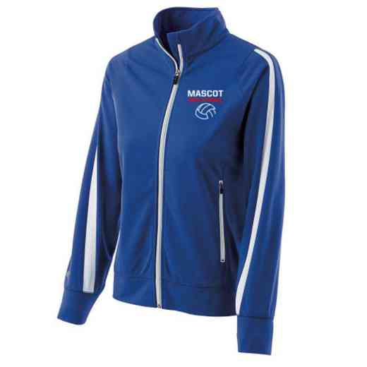 Volleyball  Embroidered Ladies Holloway Determination Jacket