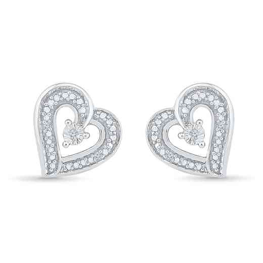 EH080253AAW: DIA ACCNT HEART EARRINGS