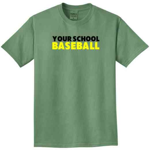 Baseball Pigment Dyed T-Shirt