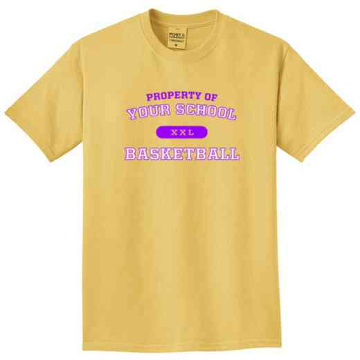 Basketball Pigment Dyed T-Shirt