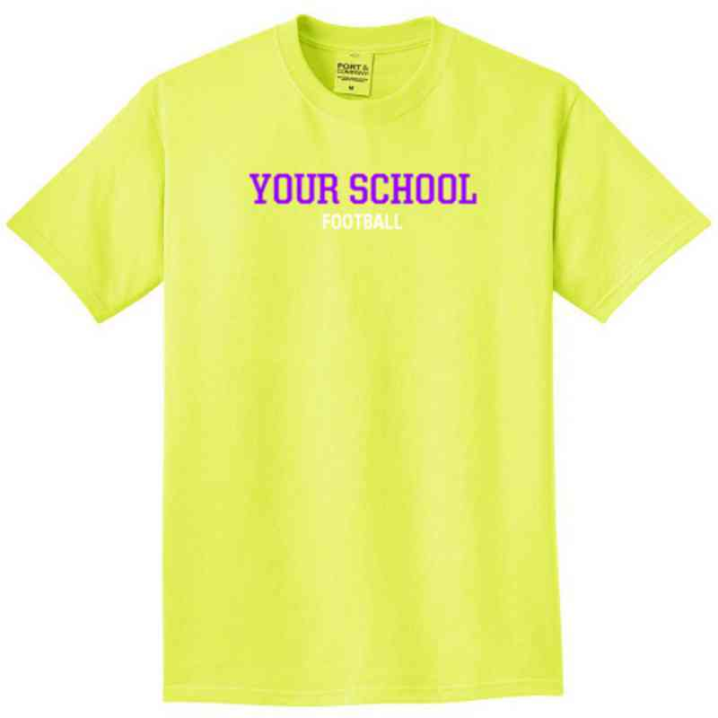 Football Pigment Dyed T-Shirt