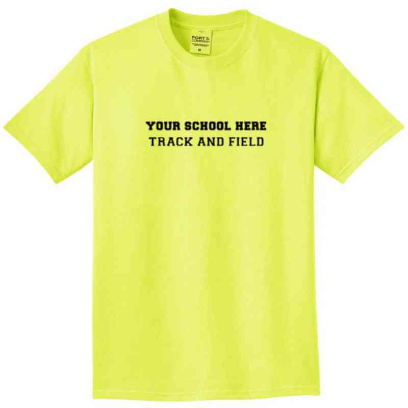 Track and Field Pigment Dyed T-Shirt