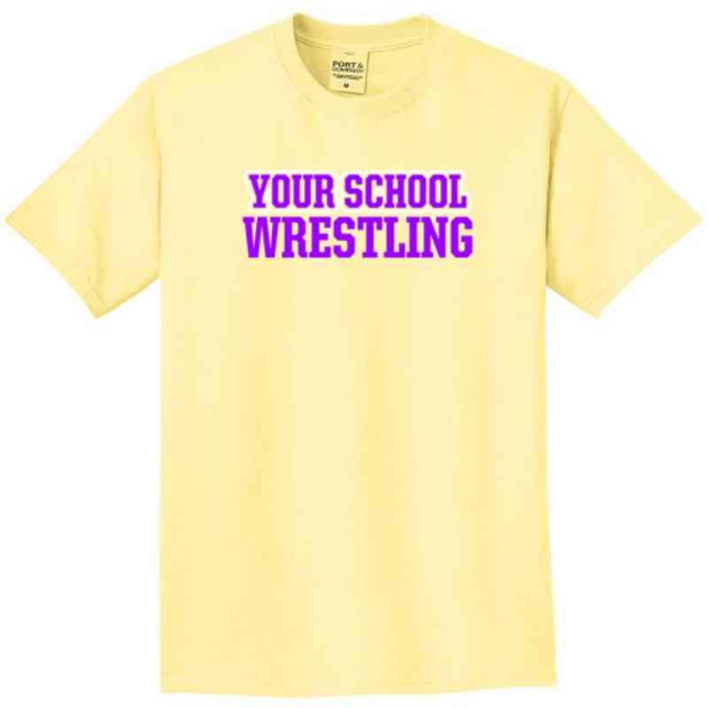 Wrestling Pigment Dyed T-Shirt