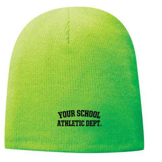 Athletic Department Embroidered Fleece Lined Beanie