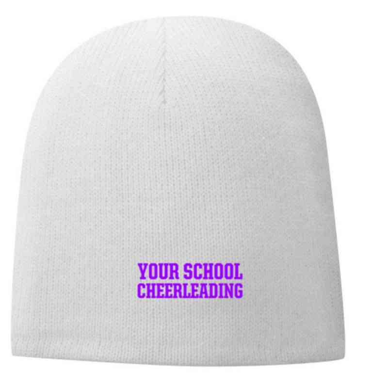 Cheerleading Embroidered Fleece Lined Beanie